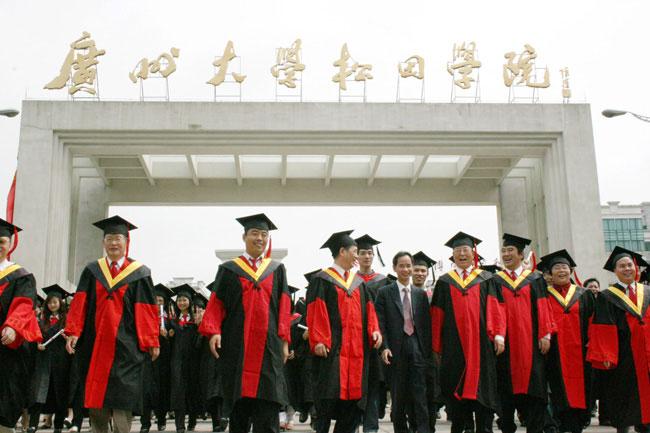 广州大学松田学院收费标准